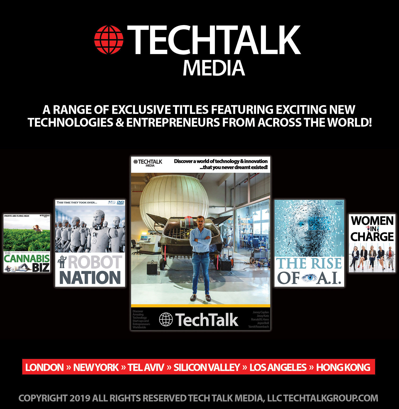 Tech Talk Media Launches Five Brand New Technology TV Series