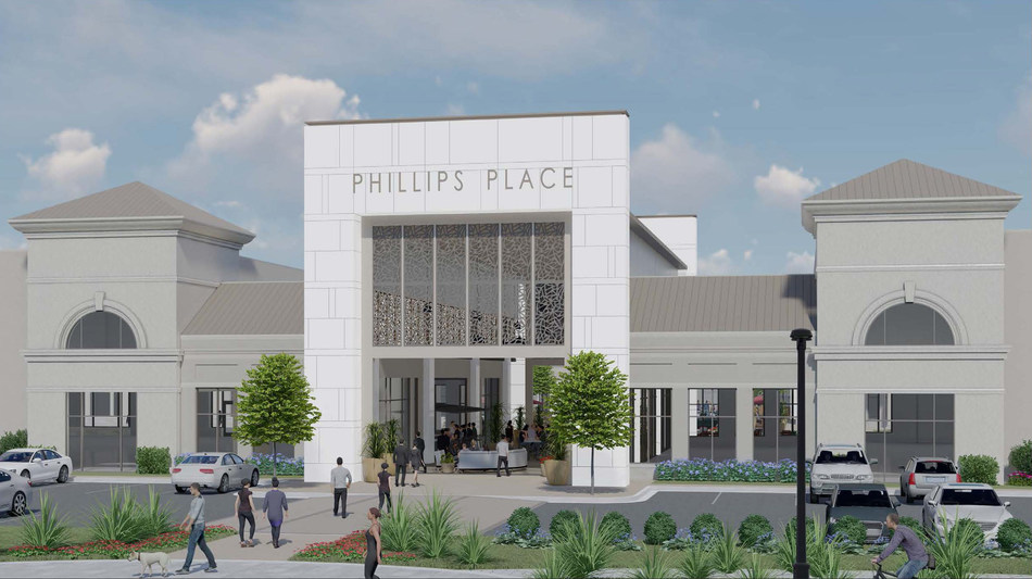 Lincoln Harris today announced it will launch a major project to refresh and update the 22-year-old Phillips Place shopping center, an iconic piece of the Charlotte retail scene since opening in 1997. The restated vision for the SouthPark-area center includes bold architectural elements, inviting indoor and outdoor public gathering places and a 41,000-square- foot RH design gallery, one of only seven with a restaurant featuring world-class offerings from celebrated restaurateur Brendan Sodikoff.