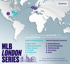 StubHub Major League Baseball Preview: MLB Global Expansion Continues with London Series Claiming Most In-Demand Series with 50% Lead Over #2 Game