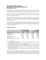 2018Q4MDA (CNW Group/Ag Growth International Inc. (AGI))