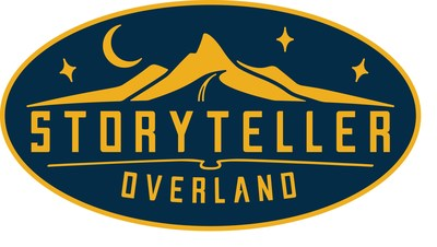 "Storyteller Overland logo ""Live Free. Explore Endlessly. Tell Better Stories."""
