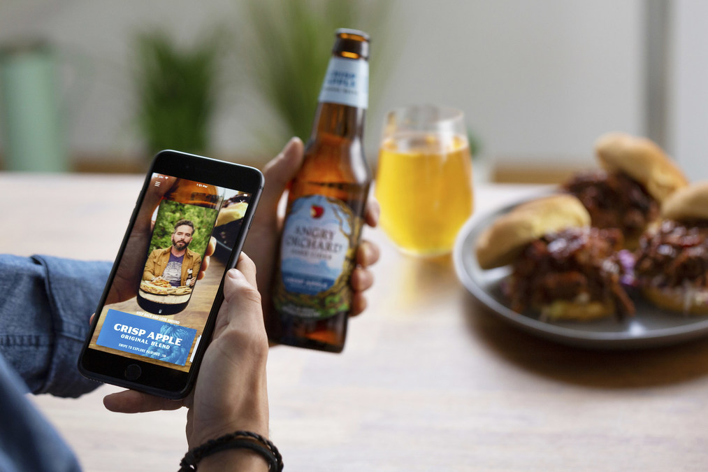 Angry Orchard Launches First-Of-Its-Kind Augmented Reality