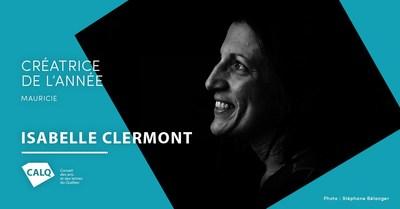 Isabelle Clermont, Créatrice de l'année en Mauricie 2019. crédit : Stéphane Bélanger (Groupe CNW/Conseil des arts et des lettres du Québec)