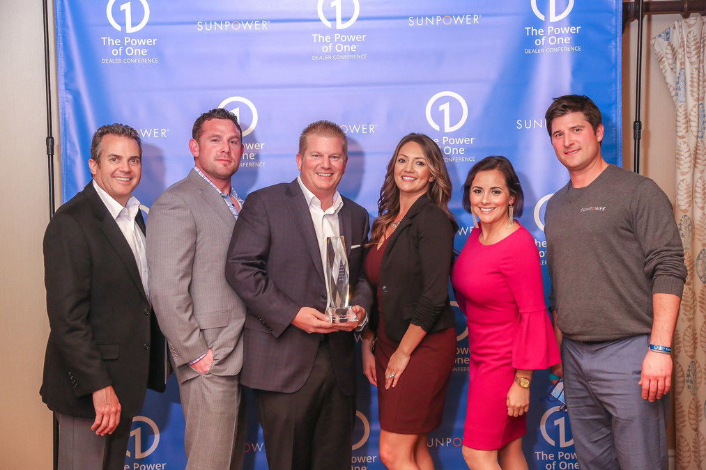 SolarTech Honored with SunPower 2018
