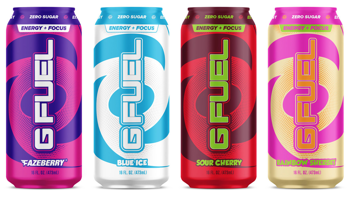 Hold Your Controllers: G Fuel in 16-Ounce Cans Launches this