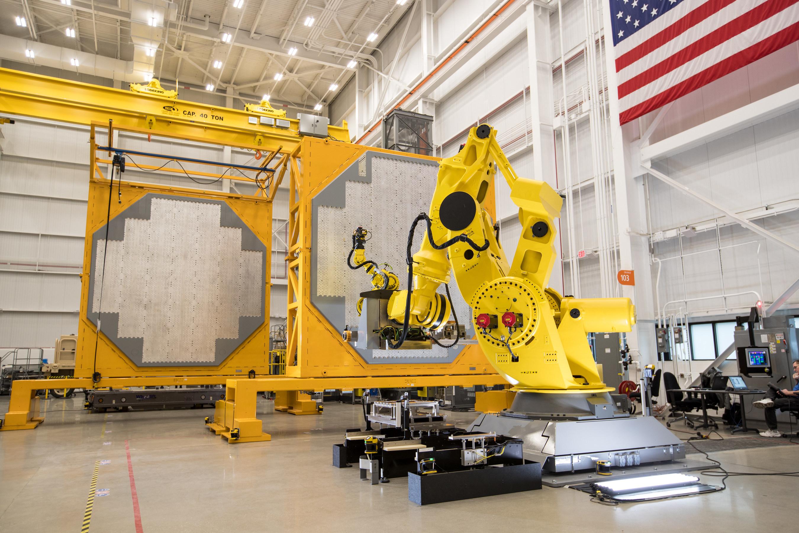 The U.S. Navy's AN/SPY-6(V)1 radar is being built in Raytheon's Andover, MA based radar development facility.