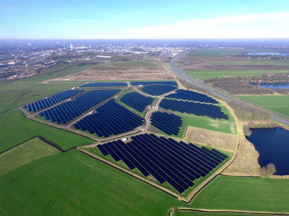 Hanergy Launches Country's Largest Thin-film Solar Power Industrial Park in the Netherlands