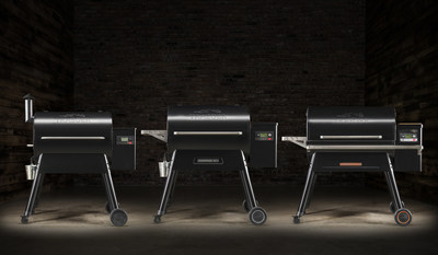Traeger's new line-up of tech-infused grills.