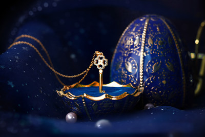 """Maiolica Egg"" presented by JIN (Shanghai) Culture Development Co., Ltd., exhibitor of UBM's Shenzhen Jewellery Fair 2019"