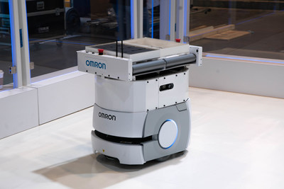 Omron's LD Series mobile robots are a unique and highly effective solution for materials transport in flexible manufacturing.