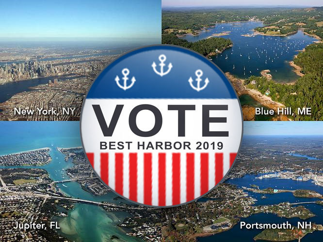 "Is YOUR harbor the ""Best Harbor in the US""? Vote for it on usharbors.com/bestharbor2019 - Winning harbor will be announced on April 15, 2019. Help your harbor win!"
