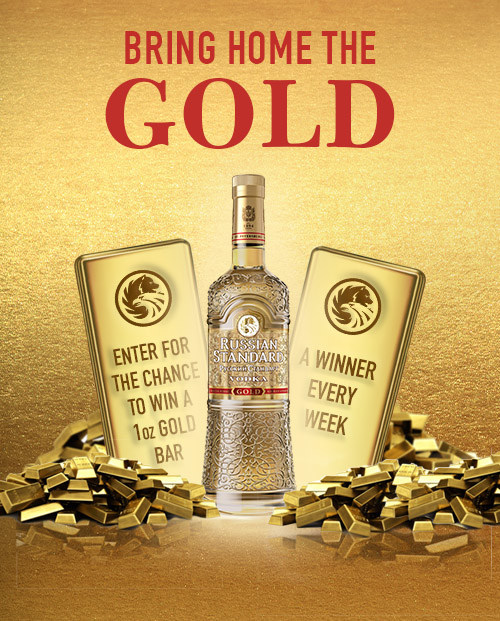 Russian Standard Vodka Bring Home the Gold Program