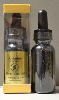 sarm center Andarine Supplément à l'entraînement (Groupe CNW/Santé Canada)