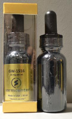 sarm center GW-1516 Supplément à l'entraînement (Groupe CNW/Santé Canada)