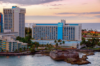 Preparing to unveil a $150 million-dollar restoration, Caribe Hilton, one of Puerto Rico's most beloved and iconic beachfront hotels, announces it will re-open on May 15, 2019.