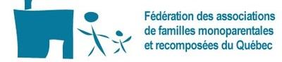 Logo : Fédération des associations de familles monoparentales et recomposées du Québec (Groupe CNW/Fédération des associations de familles monoparentales et recomposées du Québec)
