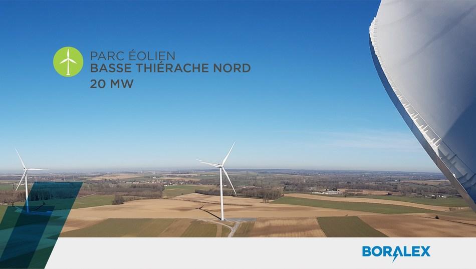 Parc éolienBasse Thiérache Nord (Groupe CNW/Boralex inc.)