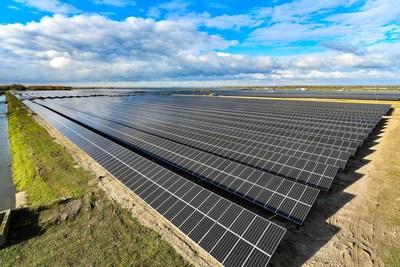 O Parque Solar de Moerdijk, fornecido pela Suntech (PRNewsfoto/Suntech)