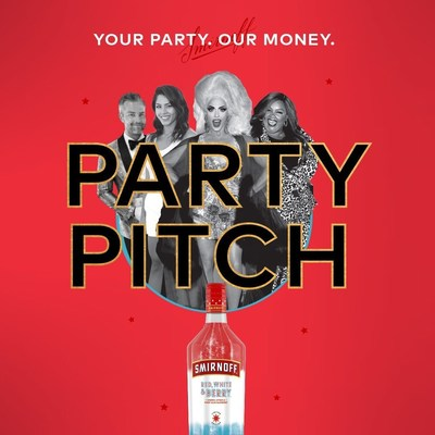 SMIRNOFF TEAMS UP WITH NICOLE BYER, ALYSSA EDWARDS AND MORE TO THROW A FEW LUCKY PEOPLE THE ULTIMATE RED, WHITE & BLUE BASHES
