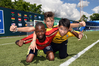 Gazprom launch seventh season of Football for Friendship programme (PRNewsfoto/Gazprom Football for Friendship)