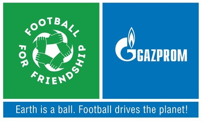 Gazprom Football for Friendship Logo (PRNewsfoto/Gazprom Football for Friendship)