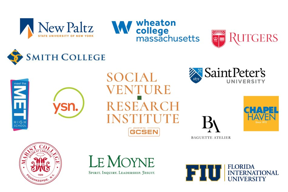 Participants in GCSEN Social Venture Research Institute Fellowship Program