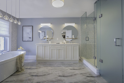 The lavish master ensuite showcases Glen Agar's luxury finishes (CNW Group/The Minto Group)