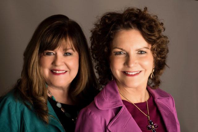 Marilyn Bushey and Gail McDonald