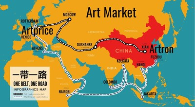 Belt and Road Initiative (BRI) Artprice - Artron - Art Market (PRNewsfoto/Artprice.com)