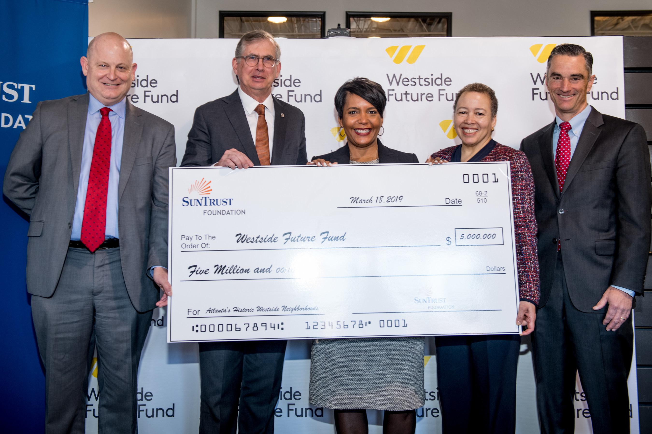 SunTrust Foundation Awards $5 Million Grant to Westside