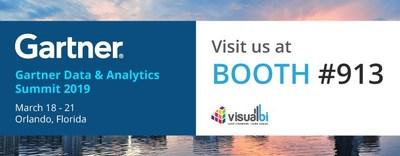 Visual BI at Gartner Data & Analytics Summit 2019