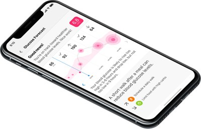 Automated Decision Support delivers glucose predictions up to 12 hours in advance (PRNewsfoto/One Drop)