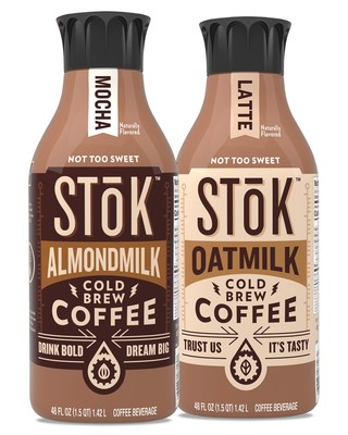STōK™ Cold Brew Launches New, Innovative Dairy-Free Creamed Coffees