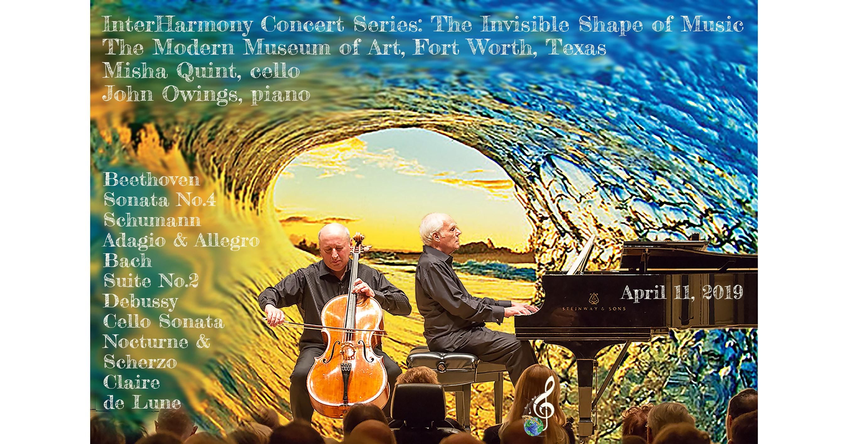 Cellist Misha Quint Pianist John Owings Perform in