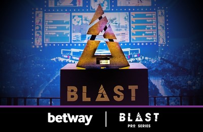 Leading online bookmaker Betway has been announced as the new sponsor of major eSports tournament, BLAST Pro Series, which gets underway on March 22nd.