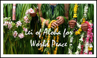 Mile Long Lei of Aloha Dedicated to Christchurch, New Zealand