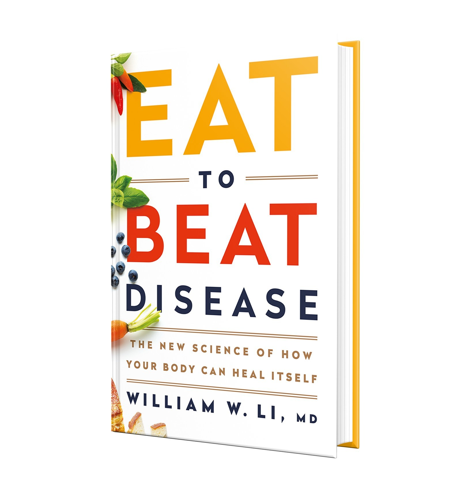 EAT TO BEAT DISEASE gives readers a fascinating view of the body's health defense systems, which span angiogenesis, regeneration, microbiome, DNA protection, and immunity. Each system helps the body resist disease and can be activated by foods. https://amzn.to/2Tn0kcM