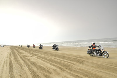"""The Dragon Route"" Motorbike Tour - Harley Davidson Riders Traverse the Center of Japan (PRNewsfoto/The Dragon Route Promotion Coun)"
