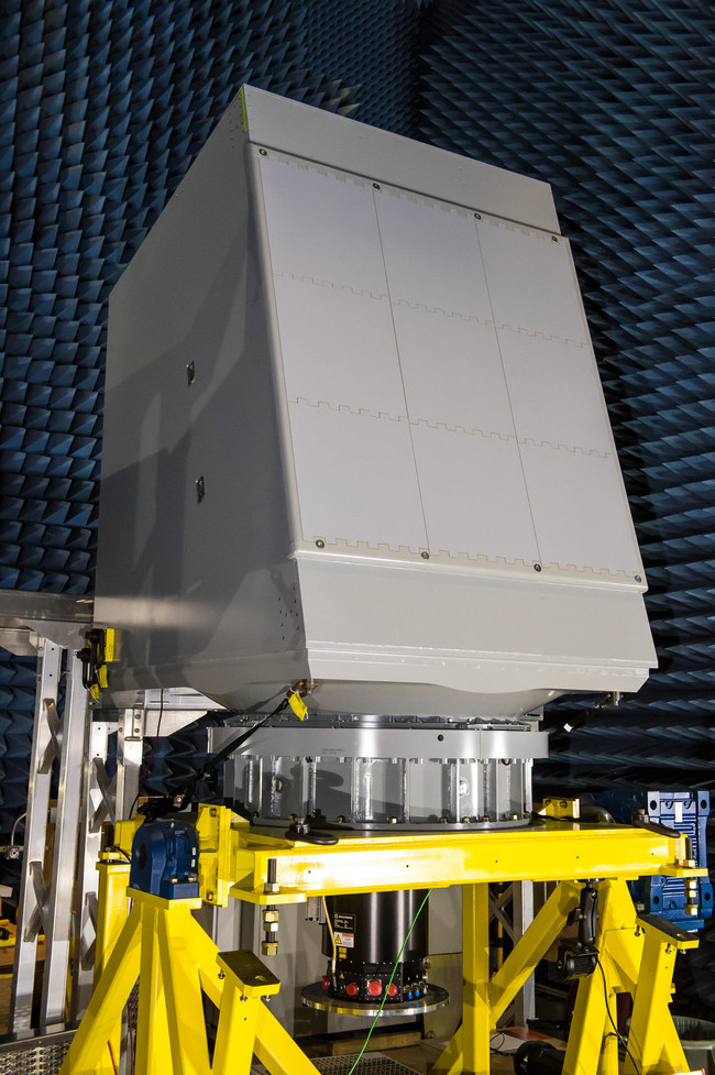 The Enterprise Air Surveillance Radar, or EASR, is the U.S. Navy's next generation radar for aircraft carriers and amphibious warfare ships, providing simultaneous anti-air and anti-surface warfare, electronic protection and air traffic control capabilities.