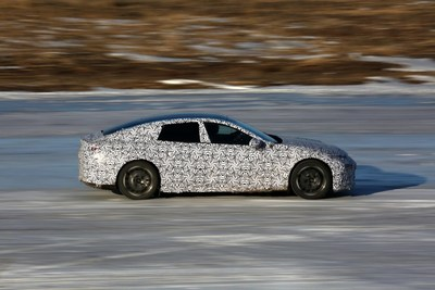 E28 testing in winter driving conditions