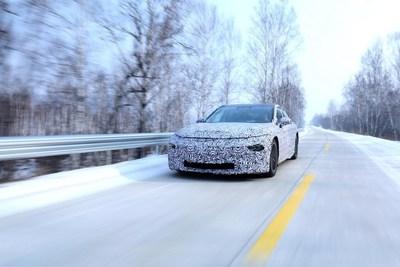 E28 testing in winter driving condition