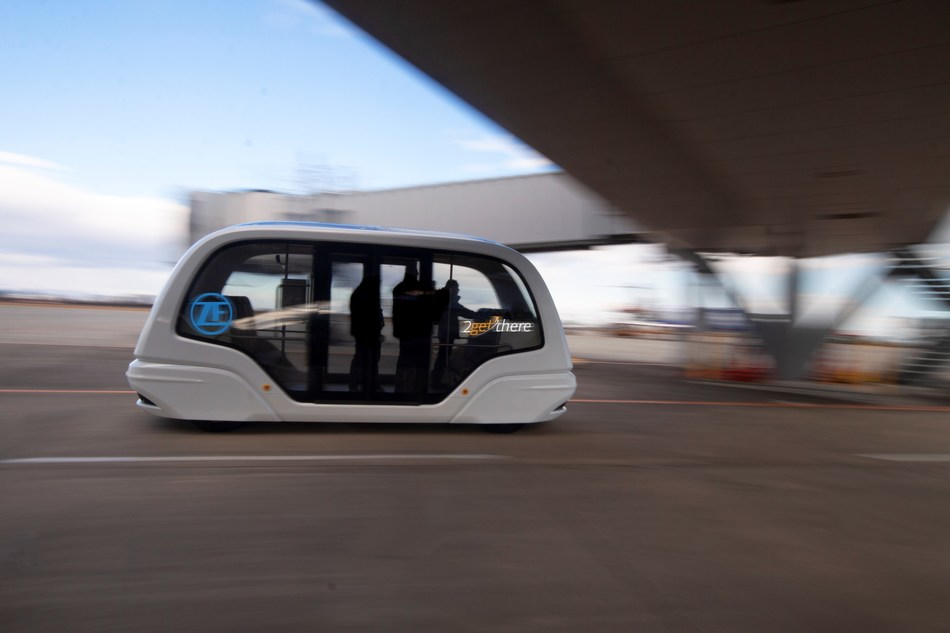 ZF Friedrichshafen AG has acquired a 60 percent share of 2getthere B.V. The company offers complete automated and electric transport systems and is located in Utrecht/Netherlands. With this acquisition ZF strengthens its foothold in the Mobility as a Service and automated guided vehicle growth markets, and complements its existing activities. Credit: 2getthere