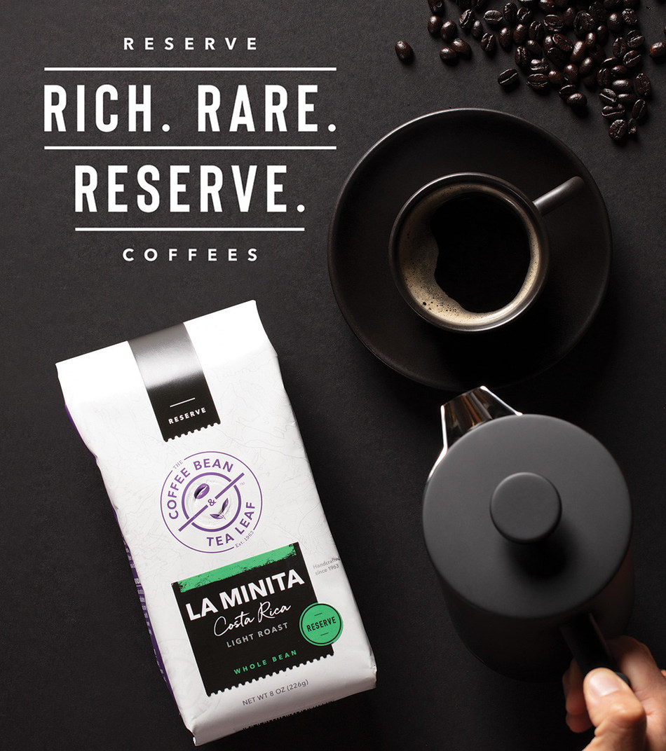 The Coffee Bean & Tea Leaf Reserve Coffee Line Returns to Retail Stores