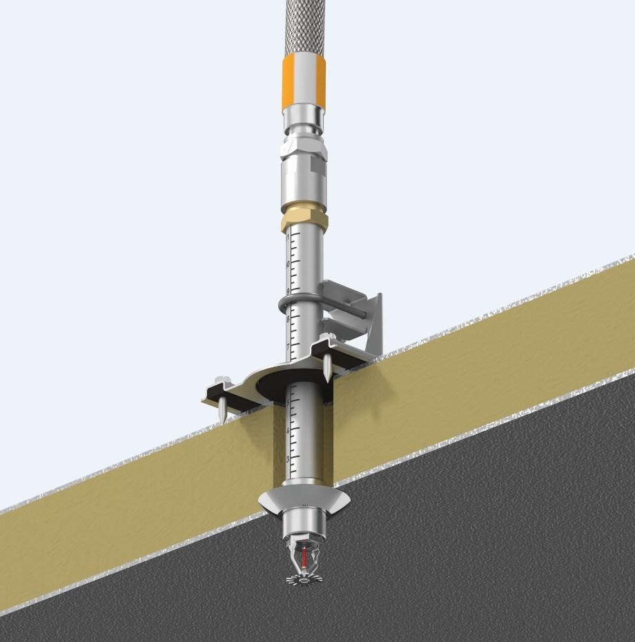 Support VicFlex Style AB6 pour les applications d'entreposage frigorifique (PRNewsfoto/Victaulic)