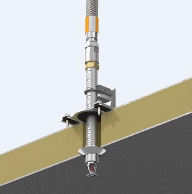 Suporte estilo AB6 VicFlex para aplicações de armazenamento refrigerado (PRNewsfoto/Victaulic)