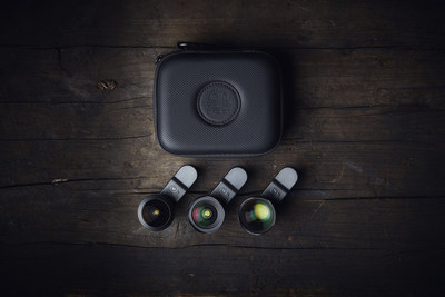 The ultimate lens set for adventures, travelers and storytellers.