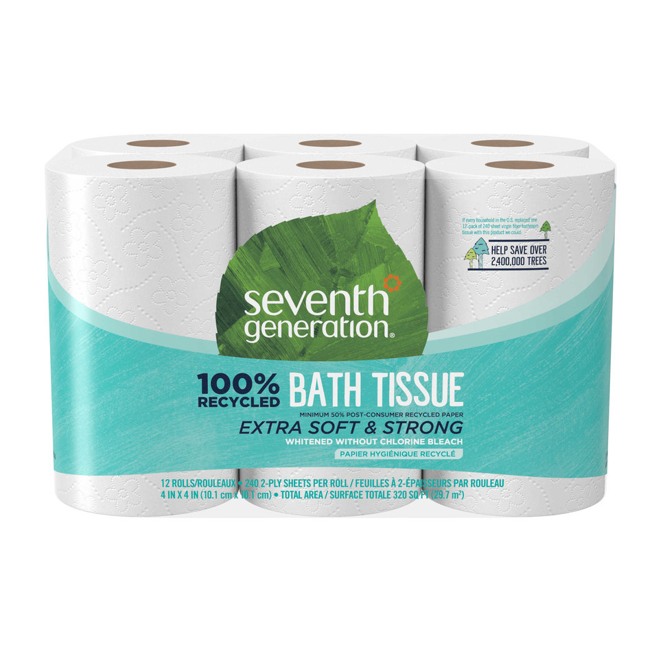 Seventh Generation 100% Recycled Bath Tissue