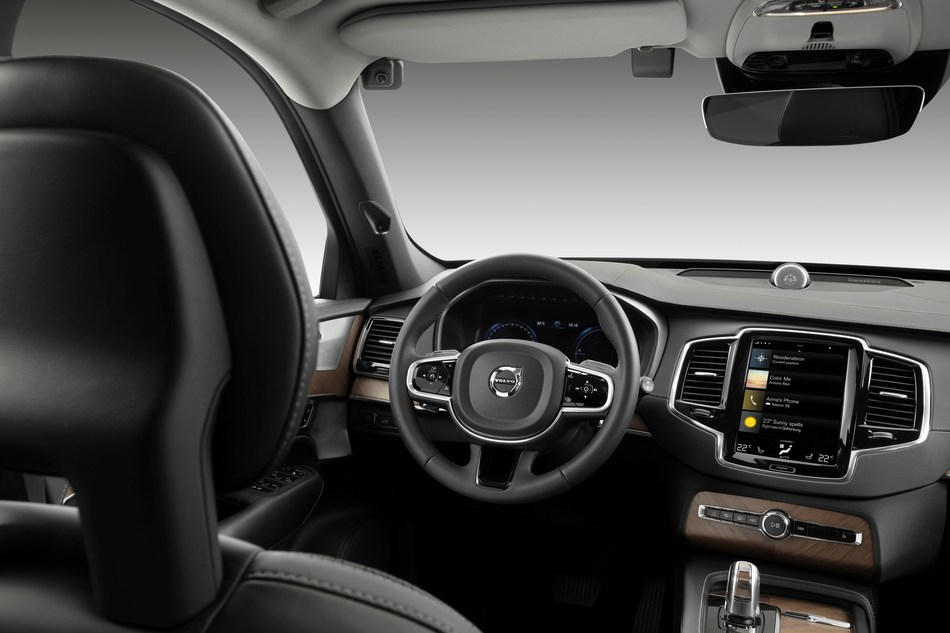 Volvo Cars to deploy in-car cameras and intervention against intoxication (CNW Group/Volvo Car Canada Ltd.)