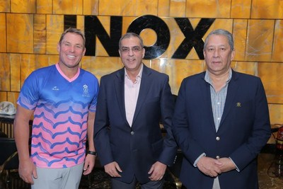 INOX Becomes the Official Partner of Rajasthan Royals