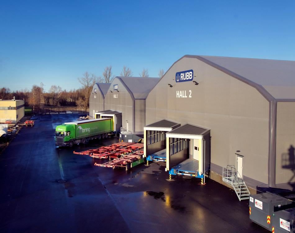 Rubb Online retailer storage warehouses